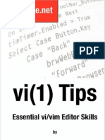 vi Tips - Essential vi/vim Editor Skills