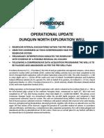 operationalupdate-dunquinnorthwell-22july2013