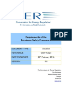 CER16023 - Requirements of the Petroleum Safety Framework