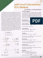 Short Circuit by Fault MVA Method