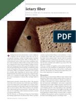 58 Focus on Dietary Fiber