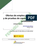 BOLETIN OFERTA EMPLEO PUBLICO 07.06.2016 AL 13.06.2016.pdf