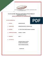 Adm. de La Producción - Actividad Formativa - Cadena de Suministro