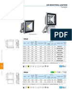 LED Floodlights VEGA Data Sheets