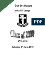 2000 Invitation