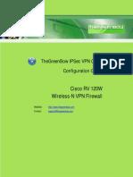 Cisco RV120W Wireless VPN Firewall & GreenBow IPSec VPN Client Software Configuration