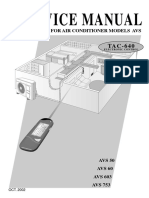 TAC640 Service Manual
