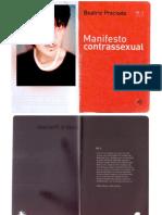 PRECIADO, B. Manifesto Contrassexual