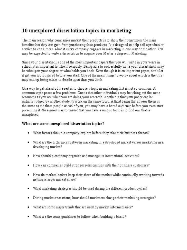 Advertising dissertation titles dissertation abstracts examples