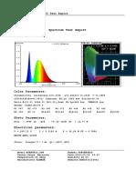 Avenue50 Spectrum Test Report