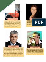 Israel Personalities