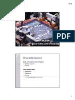 5 - PV Classes - Characterization
