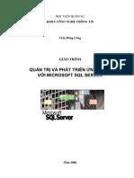 Giáo Trình Quản Trị Và Phát Triển Ứng Dụng Với Microsoft SQL Server