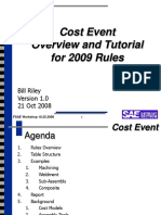 Cost Tutorial 2009