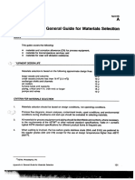 General Guide for Material Selection