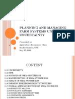 Managing Farm Systems