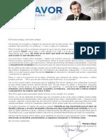 4. Carta Mariano Rajoy a Ciudadanos Catalanes