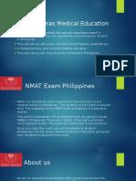 NMAT exam Philippines | Marianas  Medical Education