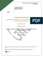 Malaysia Ictel Proceedings