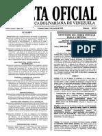Gaceta Oficial Número 40.924 de la República de Venezuela, 13 de junio de 2016