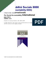 SA 8000 2014 Français