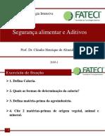 Aula 11 Segurança alimentar e aditivos.pdf