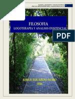 322. FILOSOFIA, LOGOTERAPIA Y ANALISIS EXISTENCIAL