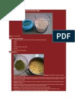 Cara Membuat Tepung Kacang Hijau