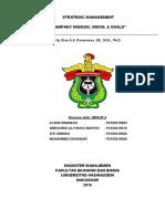 Tugas Manajemen Strategik -Visi Misi Goal- Kelompok 4