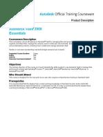 AOTC Autodesk Vault 2008 Essentials Course Description