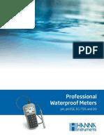Brochure Medidores HI 9819X HANNA Instruments