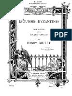 Henri Mulet - Esquisses Byzantines