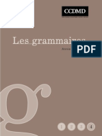 Les Grammaires IV
