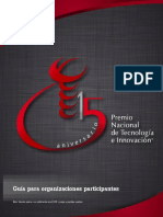 Gua de Participacin Organizaciones 2013 Previa a DOF