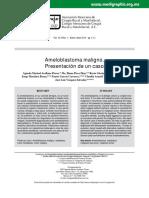Ameloblastoma Maligno. Presentacion de Un Caso