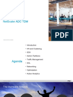 NetScaler ADC TDM Presentation