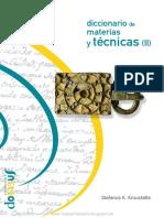 d9f5553533a1 Diccionario Materia y Tecnicas II