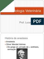 História Da Anestesia