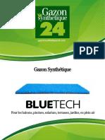 Gazon Synthetique Blue Tech - Gazonsynthetique24