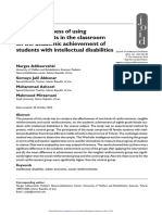 Journal of Intellectual Disabilities 2015 Adibsereshki 83 93
