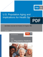 Changing demographics and impact on health care