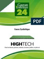 Gazon Synthetique High Tech - Gazonsynthetique24