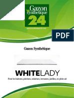 Gazon Synthetique White Lady - Gazonsynthetique24