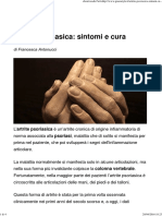 Artrite Psoriasica_ Sintomi e Cura - Greenstyle.it