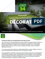 Catalogue Gazon Decoratif  Gazon Synthetique 24