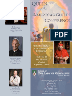2016 Queen of the Americas Guild Conference