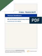 HP 2Q10 Earnings Call Transcript