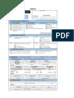 II - FUE - Formulario Único de Edificación