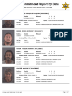 Peoria County Jail booking sheet 6/15/2016