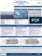 Offshore Wind Costs the Past, The Present, The Future